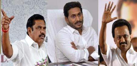 palanisami and stalin wishes jagan mohan