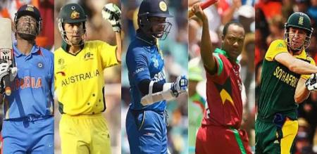 top 5 runs and wicket list world cup