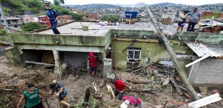 18 members died for heavy rain