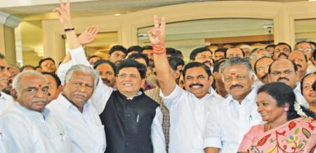 minister jayakumar says pon radhakrishnan