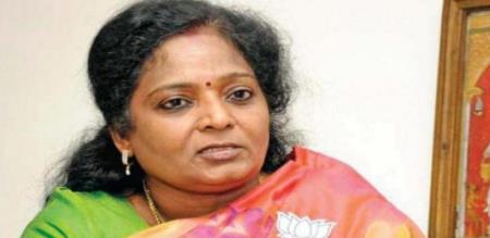 narayanasamy press meet about tamilisai