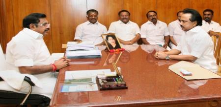 minister jayakumar press meet about mk stalin