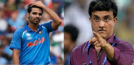 ganguly say chance the bhuvneshwar kumar in world cup