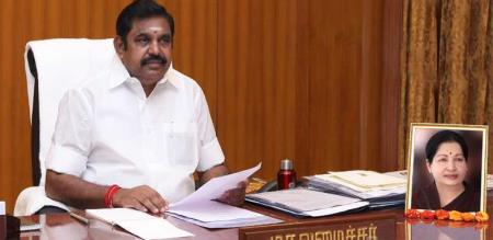 dmk ex minister mullaiventhan meet with cm palanisamy