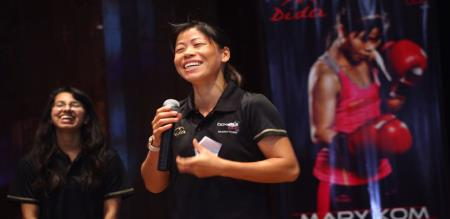 MARY KOM SING A SONG