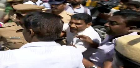 vck members arrest in chennai