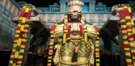 anjaneya temple namakkal