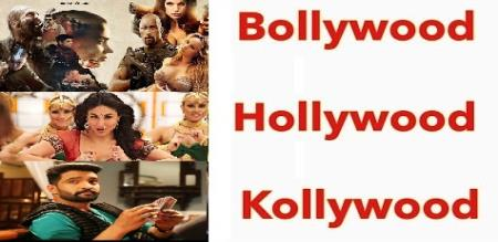 why is called as kollywood bollywood hollywood