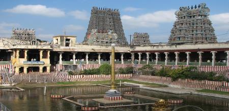 madhurai temple has second place in india