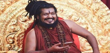 Famous cricket player tweet for nithyananda