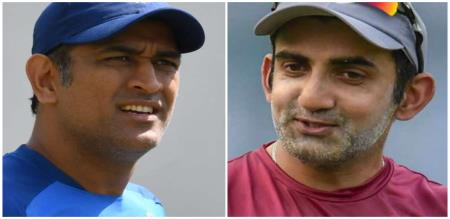 gambir says about dhoni