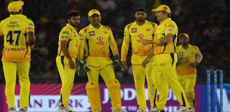 today match csk 3 changes