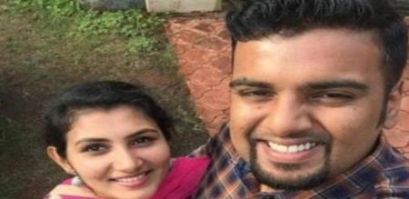 in Saudi Arabia kerala couple electric fire accident husband died