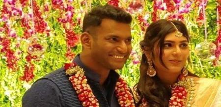 vishal anisha marriage date announced