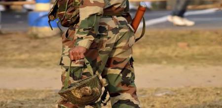 indian army man died land slide in himachal predesh