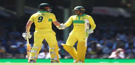 Australia set big target to India in Sydney ODI