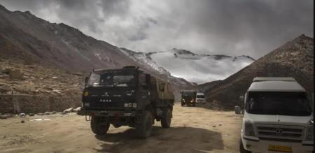 India China border army officials under control