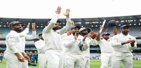 indian cricket team historical win
