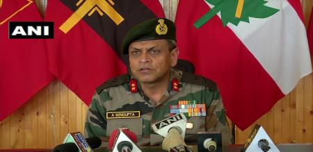 Jammu police and indian army take action against terrorist