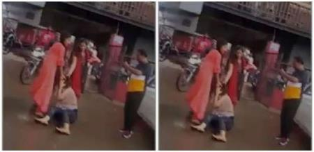 in Indore girl attack her husband and husband illegal affair girl
