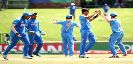 U19 world cup quarter final India vs Australia