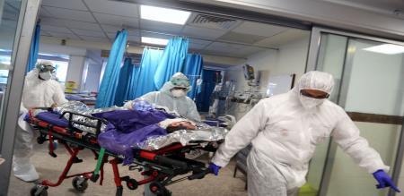 in Iran corona virus death ratio