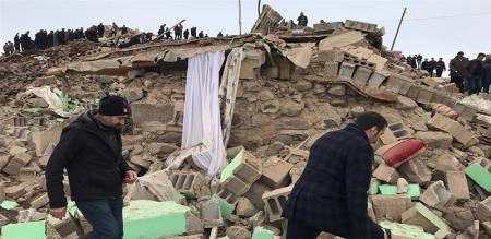 in Iran earthquake peoples died
