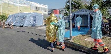 in Italy corona virus peoples died