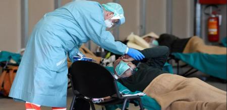 in Italy Corona virus peoples died 743 peoples died
