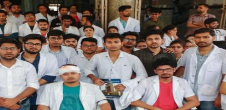docters protest in india