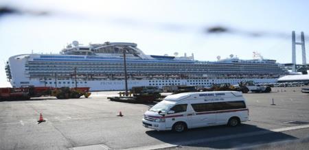 in japan ship indian 2 peoples affected corona virus