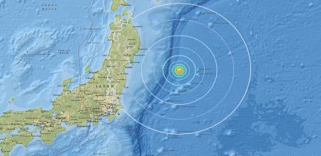 in japan earthquake rictar scale corresponding 5.4