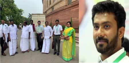 tamil nadu mps inauguration for tamil