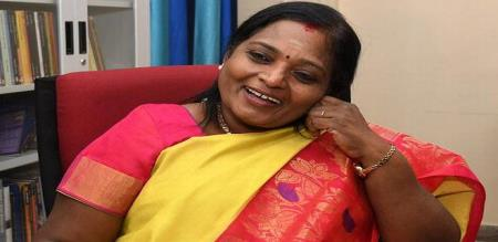 puducherry cm press meet about tamilisai