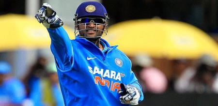 MS DHONI FAST STAMPING