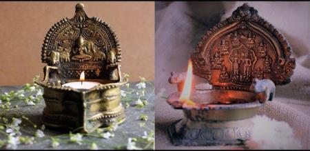 why should lighting kamatchi amman lamp