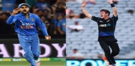 New Zealand team lose all wickets