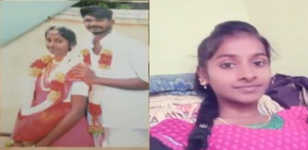 Kanchipuram pregnant girl murder by husband police investigation