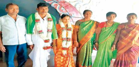 in karnadaga girl marriage second by his died husband mom help
