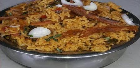 how to prepare tasty village karuvadu briyani