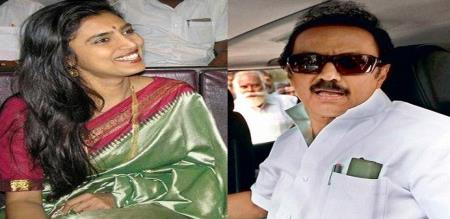 actres kasthuri told about mk stalin