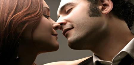 couple kiss is strength for health