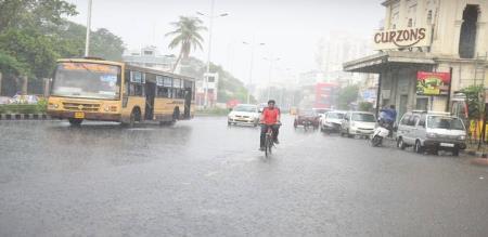 just now rain in porur
