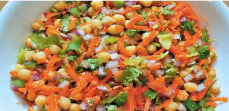 Healthy carrot salad recipe in Tamil