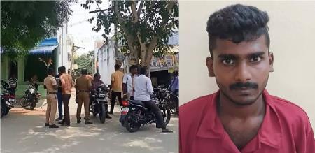 Thoothukudi Ettaiyapuram Love Married Man Surya Ragavan Murder by Ananda Raj Due to Inter Caste Love Issue