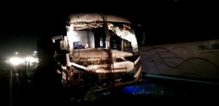 in villupuram bus accident 4 peoples died