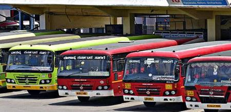 Karnataka KSRTC Govt Bus Stolen Robbers Take Diesel Fuel