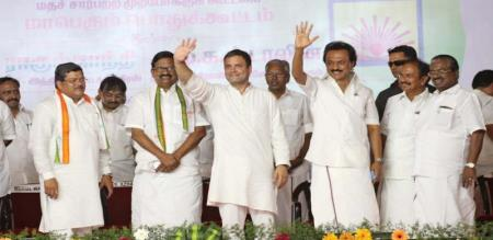 DMK coalition made drama in 8way road issue for people votes