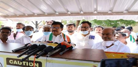 KS Azhagairi emotional speech in party meeting about alliance with DMK