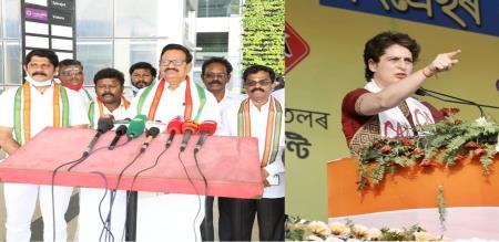 Karti Chidambaram MP gives willing petition to Kanyakumari Lok Sabha seat For Priyanka vadra Gandhi